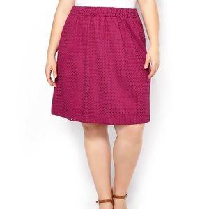 Penningtons Pink Eyelet Skirt